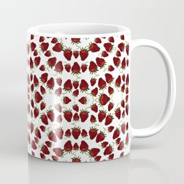 Red, Ripe Strawberries in a repeating pattern Coffee Mug