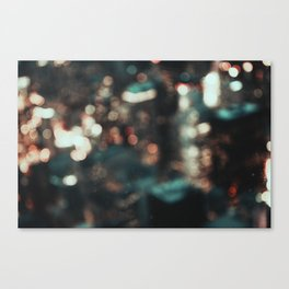 chicago II / unfocused city collection Canvas Print