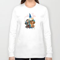 harry potter Long Sleeve T-shirts featuring Harry Potter Hug by Super Group Hugs
