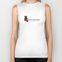 ouat Biker Tanks featuring Outlaw Queen Quote (OUAT) by CLM Design