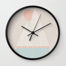 Nothing More Wall Clock
