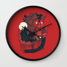 Leader of the Pack Wall Clock