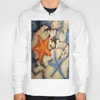 starfish Hoodies featuring Starfish by Michael Anthony Alvarez