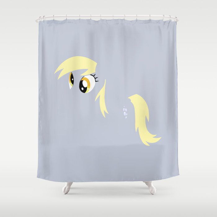 My Little Pony   Minimal Derpy Hooves Shower Curtain