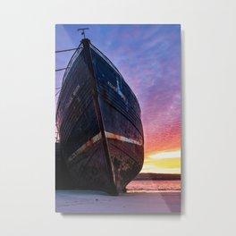 Aran Islands Shipwreck Metal Print
