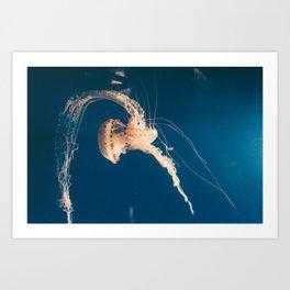 Dancing Jellyfish Art Print