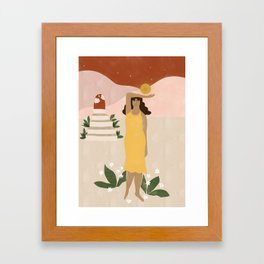 Stairway to Unknown Framed Art Print
