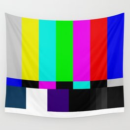 Video Bars Wall Tapestry