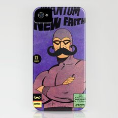 phantom moustache iPhone (4, 4s) Slim Case