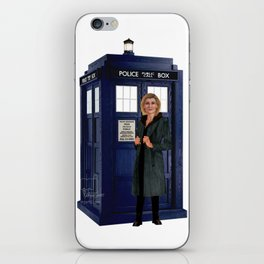 1th Doctor, 4th Doctor, Sarah Jane, K-9 iPhone Skin