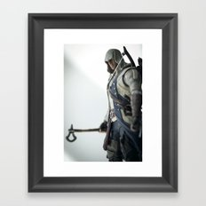 My enemy is a notion, not a nation. Framed Art Print