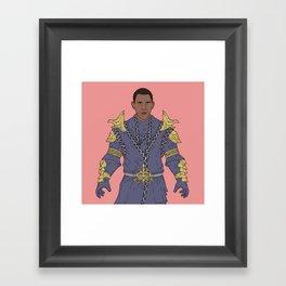Miraak Obama Framed Art Print