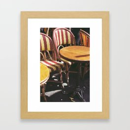 Paris Sun Framed Art Print
