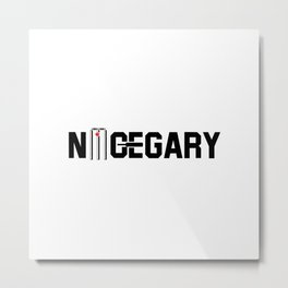nice gary Metal Print