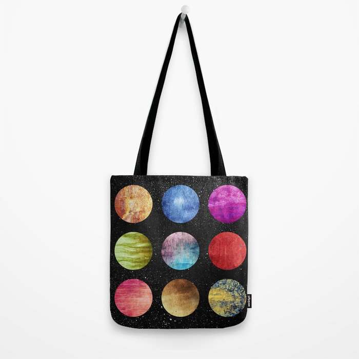 Unknown worlds Tote Bag