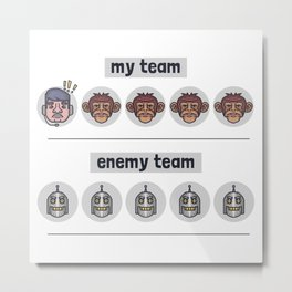 Worst Teamup Metal Print