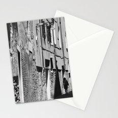 Into the shadows b&w Stationery Cards
