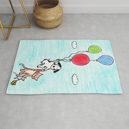Up, Up and Away! Rug
