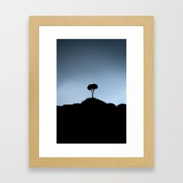 African Bonsai Framed Art Print