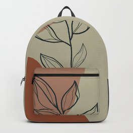 Organic Bloom Green  Backpack
