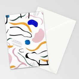wave notation Stationery Cards