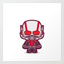 Insect Man Art Print