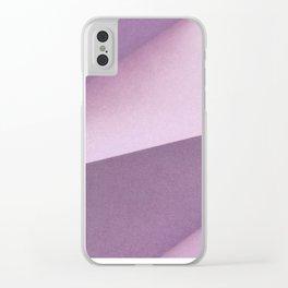 Origami 2 Clear iPhone Case