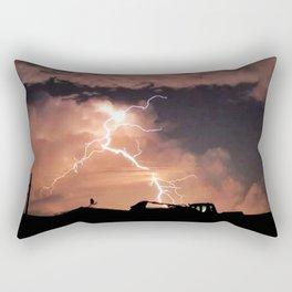 Mister Lightning Rectangular Pillow