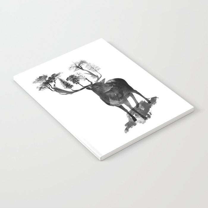 The Black Forest Deer Notebook