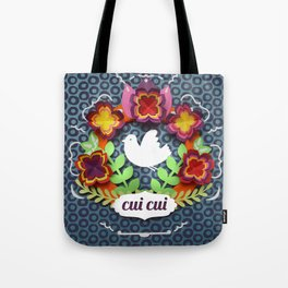 flower wreath Tote Bag