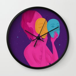 Trip for two Wall Clock