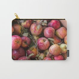 Pile of freshly picked organic farm apples with imperfections Carry-All Pouch