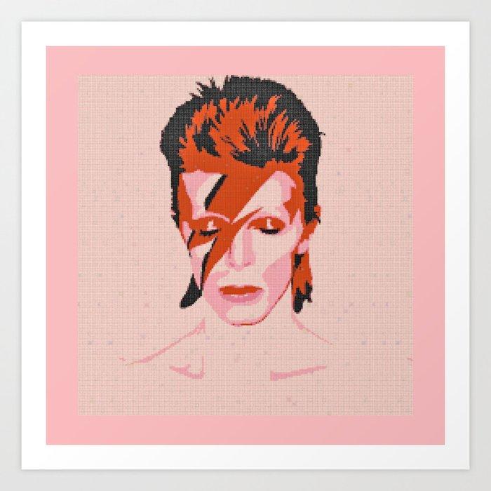 DAVID B Art Print