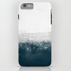 Ocean No. 1 - Minimal ocean sea ombre design  Tough Case iPhone 6 Plus