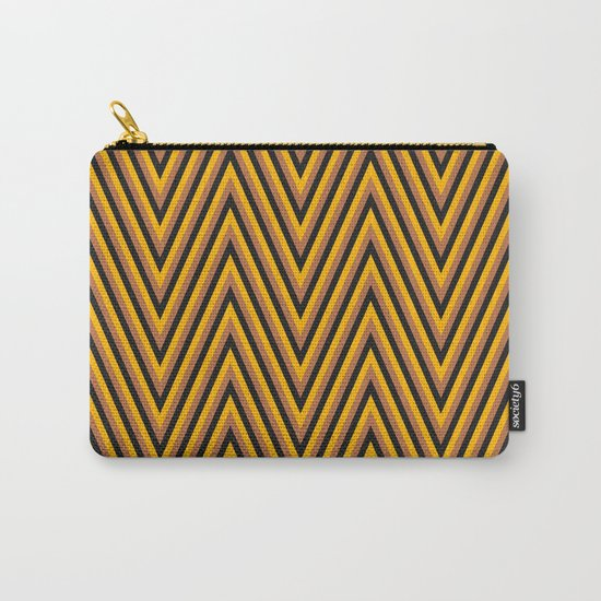 Chevron 2 Carry-All Pouch