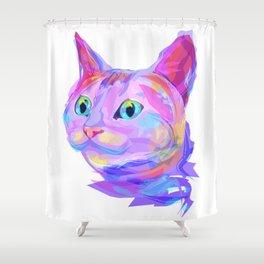 Cute cat (Animal set) Shower Curtain
