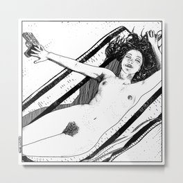 asc 489 - Le bonheur sans fin (Eternal bliss) Metal Print