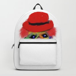 clown with cigar Backpack