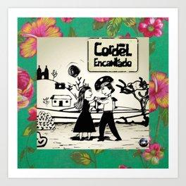 CordelDance by Chikita Art Print