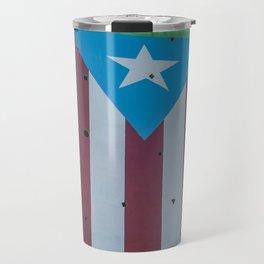 Puerto Rico flag Travel Mug