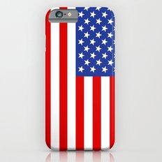united states of america flag iPhone 6s Slim Case