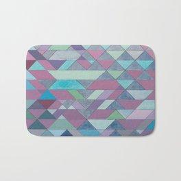 Triangle Pattern no.3 Violet Bath Mat