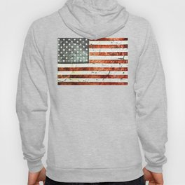 Painted Stars And Stripes Hoody