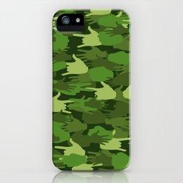 Handy Camo GREEN iPhone Case