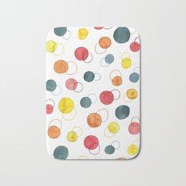 Color Circles Bath Mat