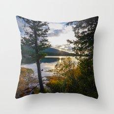 Echo Lake Throw Pillow