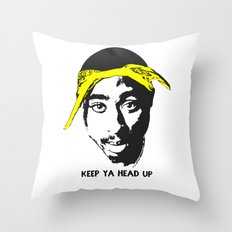 Keep Ya Head Up Throw Pillow