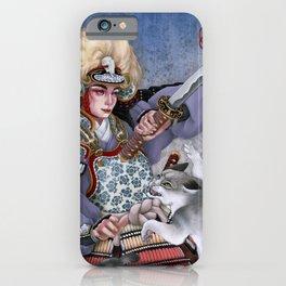 Warrior of dawn iPhone Case