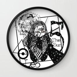 Leo - Zodiac Sign Wall Clock