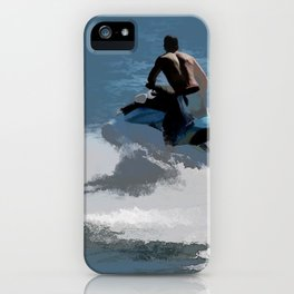 Making Waves - Jet Skier iPhone Case